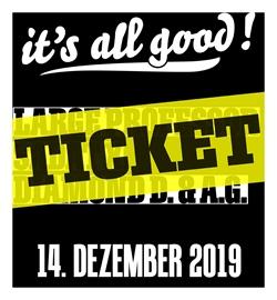 "Ticket ""it´s all good #12"""