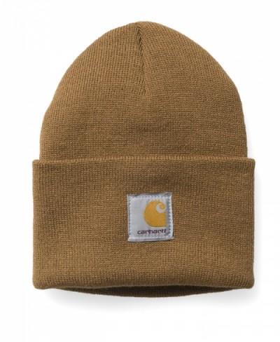 Carhartt WIP Beanie Acrylic Watch Hat hamilton brown