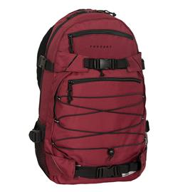 "Forvert Backpack ""Louis"" (burgundy)"