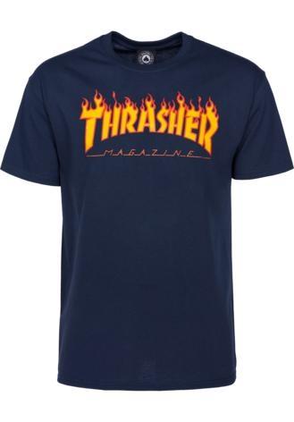 Thrasher Shirt Flame