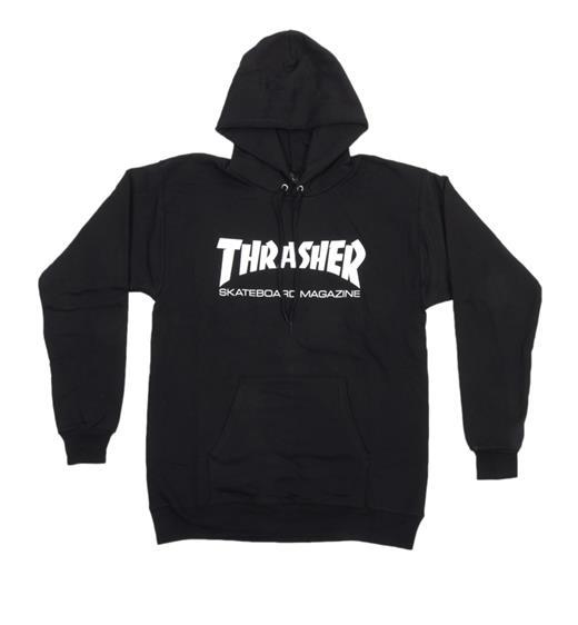 Thrasher Hoodie Skate Mag, schwarz
