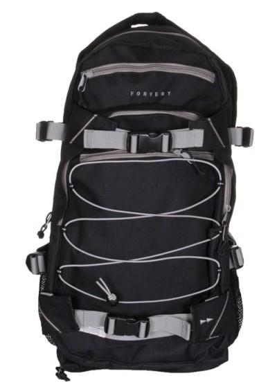 "Forvert Backpack ""Ice Louis"" (black/grey)"
