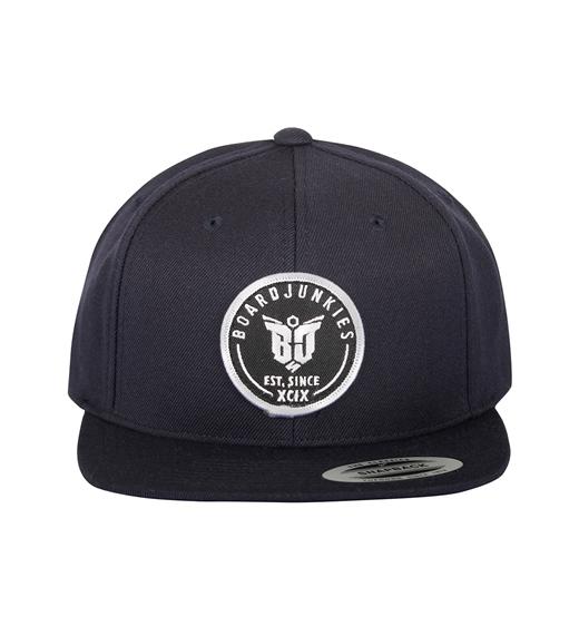 "boardjunkies Cap ""BJS-Snap Back""(dark navy)"
