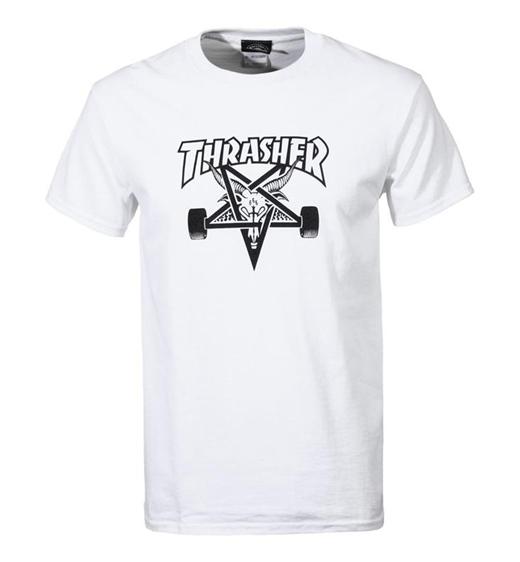 Thrasher T-Shirt Skategoat weiß