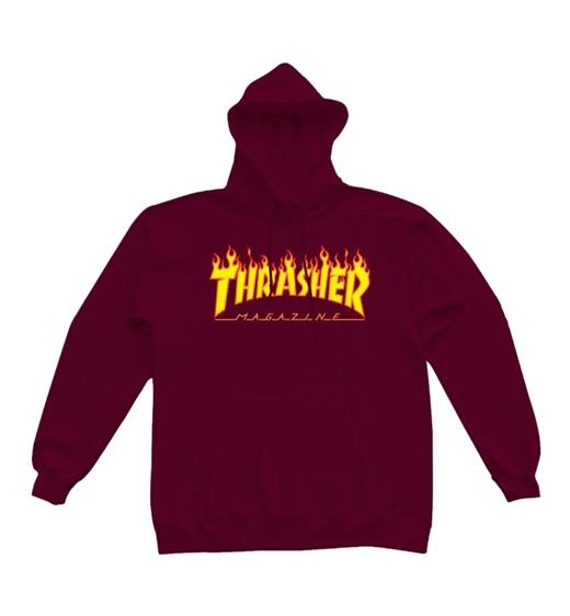 """Thrasher Hoody """"Flame"""""""