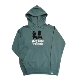 "boardjunkies Hoody ""bjs x Clepto Hate and Skate"""