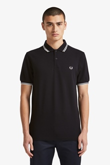 Fred Perry Polo Shirt Twin Tipped