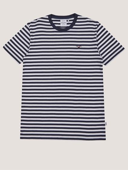 """Cleptomanicx Shirt """"Stripe"""""""