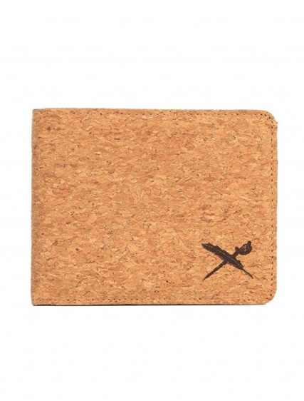 "Iriedaily Wallet ""Cork Flag Wallet"""