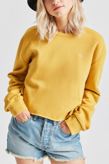 "Brixton Girls Sweater ""Vintage Crop Crew"""