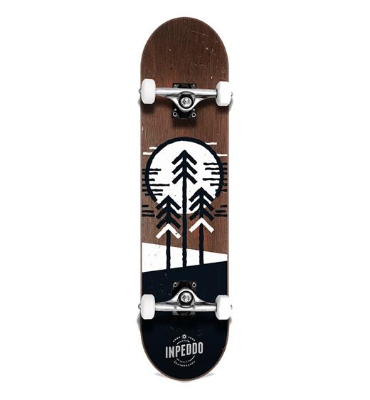 """Inpeddo Komplettboard """"Forest brown 8.0"""""""