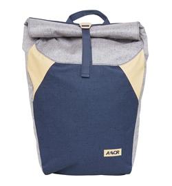 "Aevor Backpack ""Rolltop"" (bichrome peach)"