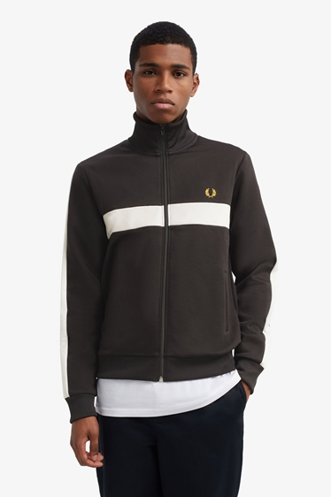 "Fred Perry Jacke ""Contrast Panel Track Jacket"""