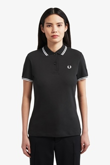 Fred Perry Girl Polo Twin Tipped Fred Perry Shirt