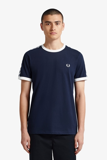 Fred Perry Taped Ringer Shirt