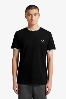 """Fred Perry Shirt """"Twin Tipped T-Shirt"""""""