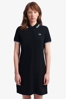Fred Perry Kleid Twin Tipped Dress