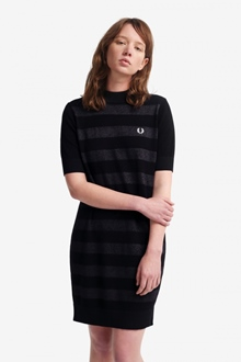 """Fred Perry Kleid """"Knitted Stripe"""""""