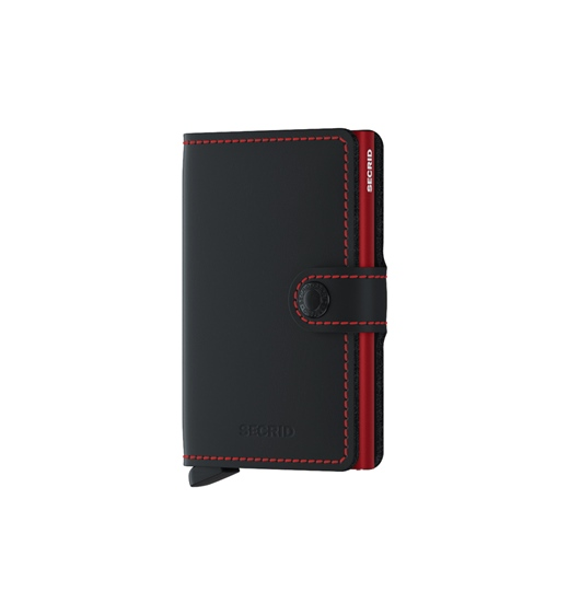 Secrid Miniwallet MM-Black & Red