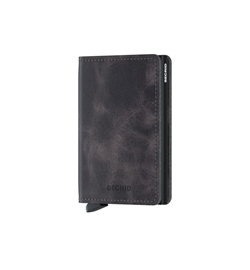 "Secrid Slimwallet ""SV-Grey-Black"""