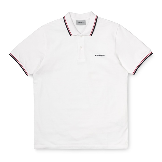"Carhartt WIP Polo Shirt ""Script Embroidery Polo"""