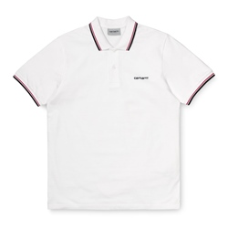 Carhartt WIP Polo Shirt Script Embroidery