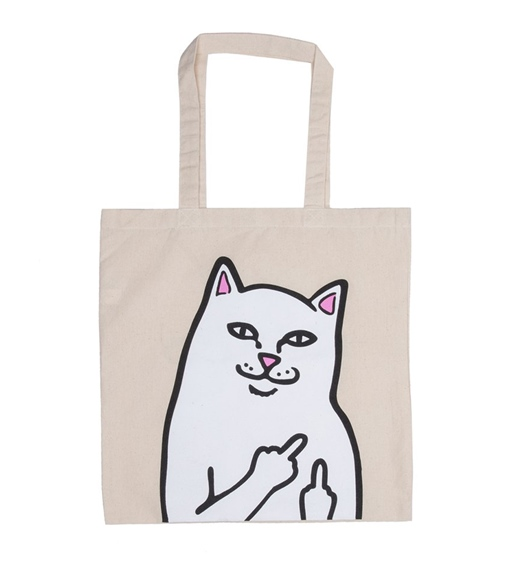 RipNDip Tasche Lord Nermal Canvas Tote Bag