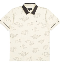 "Brixton Polo Shirt ""Carlos Print"""