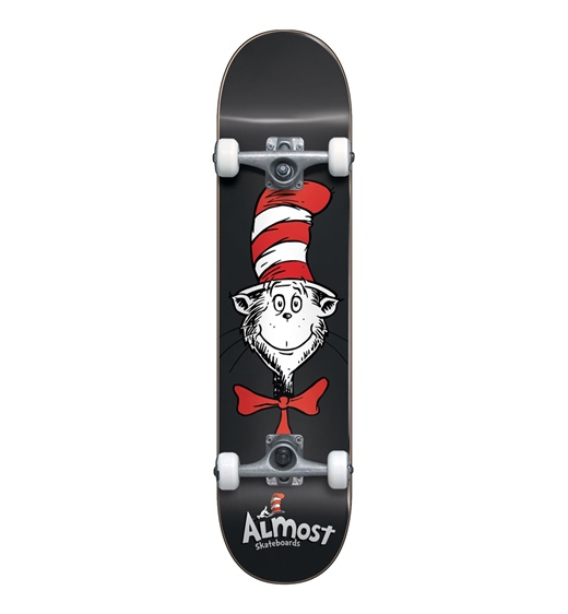 Almost Komplettboard Cat Face Black 7.875