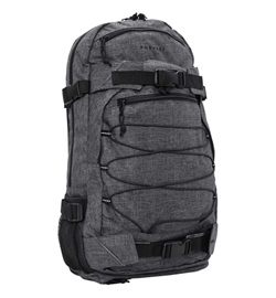 "Forvert Backpack ""Melange Louis"" (black melange)"
