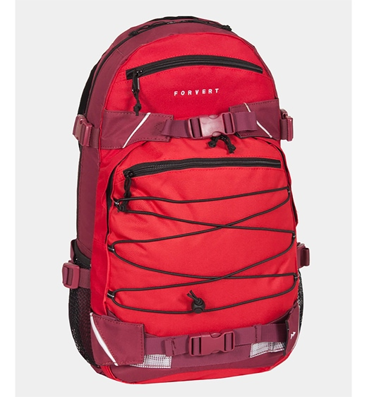 Forvert Backpack Three Color Louis (red)