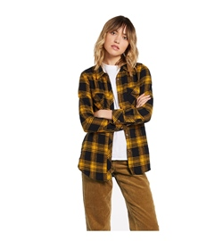 Volcom Girls Hemd Getting Rad Plaid