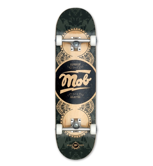 Mob Skateboards Komplettboard Gold Label 8.5""