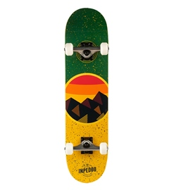 Inpeddo Komplettboard Mountain yellow 7.625""