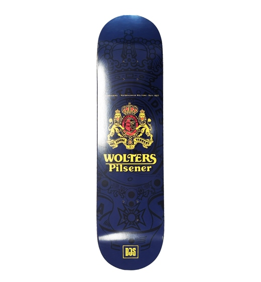 boardjunkies Skateboard Deck Wolters x BJS