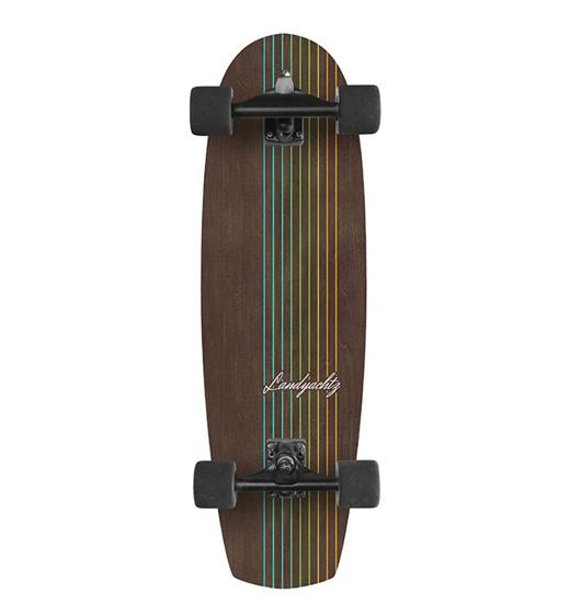 """Landyachtz Surfskate Butter Walnut Lines 31"""""""