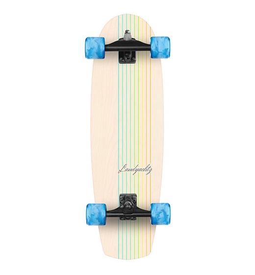"""Landyachtz Surfskate Butter White Oake Lines 31"""""""