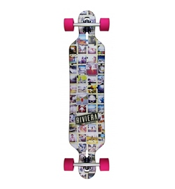 Riviera Longboard Mosaic Drop Through