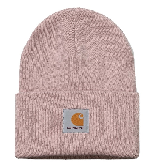 Carhartt WIP Beanie Acrylic Watch Hat frosted pink h.