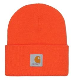 Carhartt WIP Beanie Acrylic Watch Hat safety orange