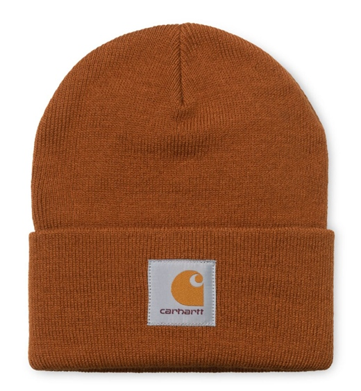 Carhartt WIP Beanie Short Watch Hat brandy