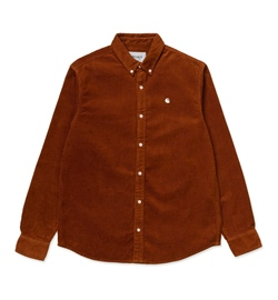 Carhartt WIP Hemd Madison Cord Shirt