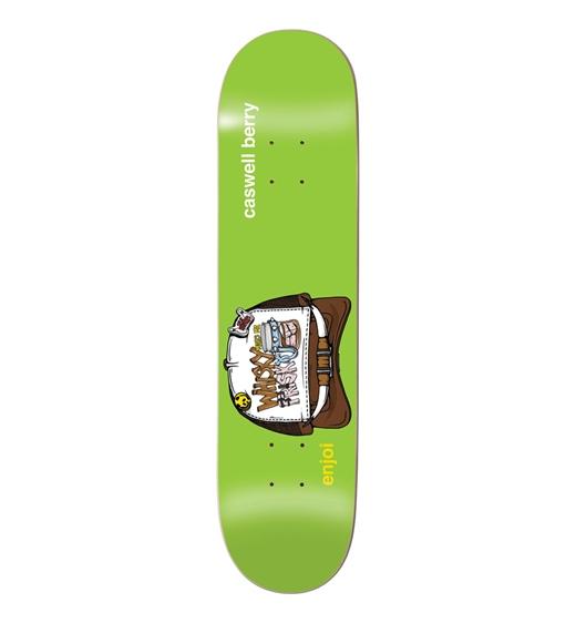 "Enjoi Skateboard Deck Berry Snap Back 8,375"""