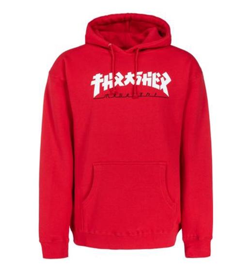 Thrasher Hoody Godzilla