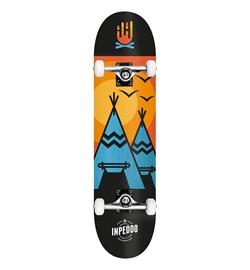 "Inpeddo Skateboard Komplett Wigwam 7.25"""