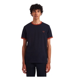 Fred Perry Shirt Ringer T-Shirt