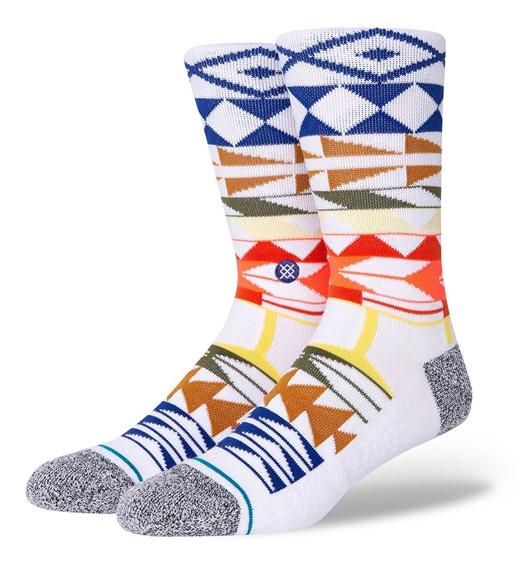 Stance Socken Warrior Print