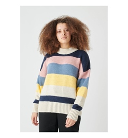 Cleptomanicx Girls Sweater Elsa Stripe
