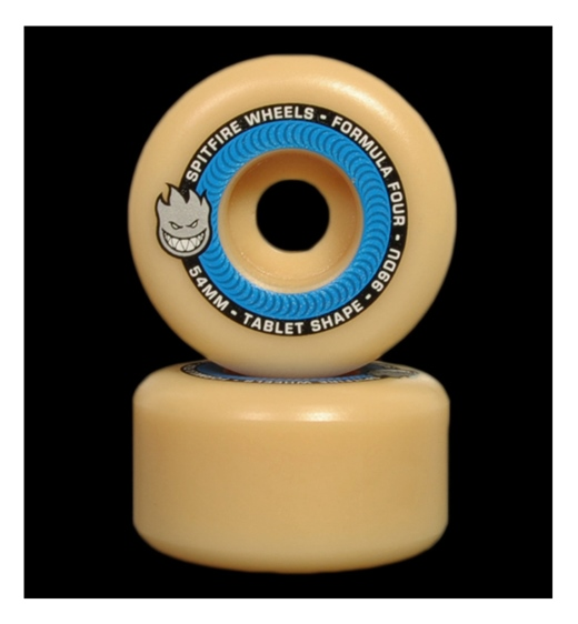 Spitfire Rolle F4 Tablets Natural 99A 54mm