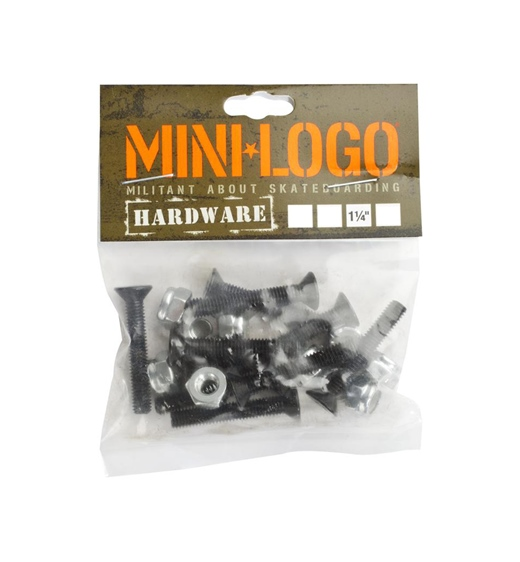 "Mini Logo Hardware Bolts  Kreuz 1-1/4"""
